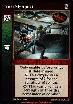 VTES V:TES - Torn Signpost - Combat / Keepers of Tradition