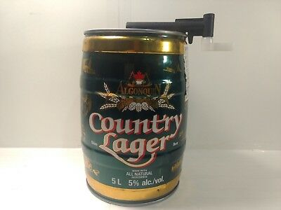 Algonquin Brewing Country Lager Mini Keg Beer Park 1893-1993 100 Years