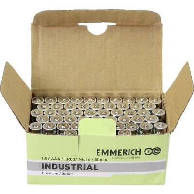 Emmerich industrial lr03 batteria ministilo aaa alcalina/manganese 1300 mah 50