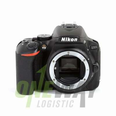 NEW Nikon D5600 Digital SLR Camera Body Only (Black) (Kit Box)