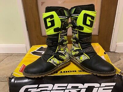 Gaerne Classic Balance Camo Trials Boots size uk7 eur 42