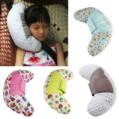 Baby Pillow Kids Car Seat Belt Cover Pad Head Shoulder Neck Support Cushion Pad