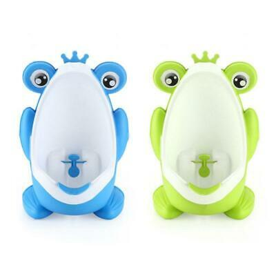 Frog Cute Potty Training Urinal for Boys Cartoon Toilet with Funny Aiming Target