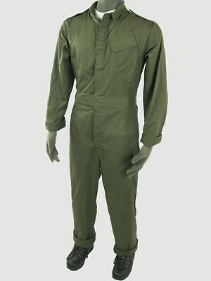 Genuine British Army Military Overalls Boiler Suit Mechanic Coveralls All Size