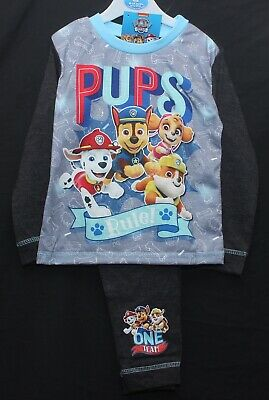 PAW PATROL Pyjamas / Boy's Chase,Marshall,Rubble & Skye PJs 18 months-5 years