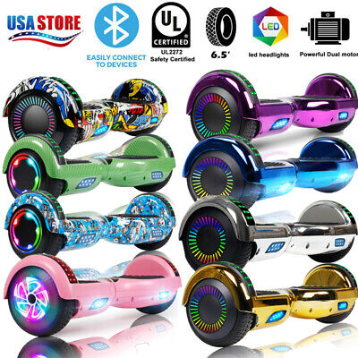 "6.5"" Bluetooth Hoverboard Self Balance Electric Scooter UL Bag LED Best Gift"