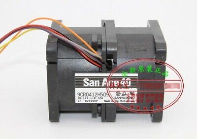 SANYO 4056 12V 1.1A 9CR0412S510 6Wire Cooling Fan