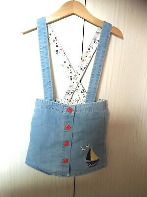 Little Bird Jools Oliver Pinafore Skirt Girls 3-4 Mothercare