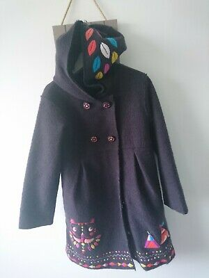 Designer DP... am girl wooly coat 8 years excellent condition stunning