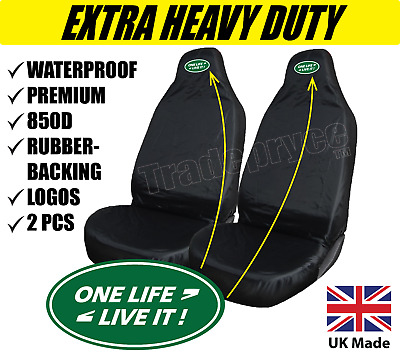 1+1 Land Range Rover Vogue Seat Covers ONE LIFE LIVE IT LogoS PREMIUM QUALITY HD