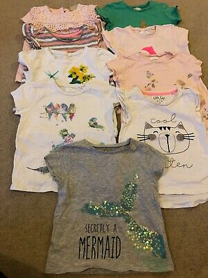 Next Tu Girls 2-3 Years T Shirts Tops Bundle