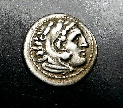 Lysimachos. Stunning Drachm. In the Types of Alexander the Great. Greek Silver.