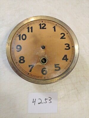 Antique German Time Only Movement & Dial