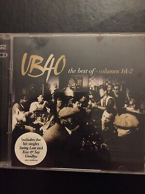 The Best Of UB40 Volumes 1 + 2 Used 35 Track Greatest Hits Cd Reggae 70s-00s