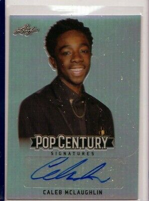 Caleb McLaughlin signed Autographed photo w//COA RARE Stranger Things