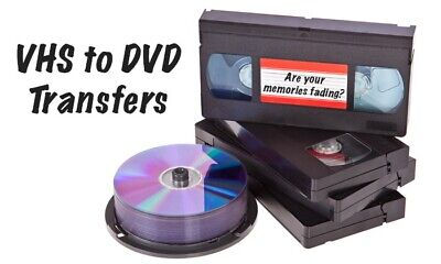 VHS / DVD TRANSFER & DUPLICATION SERVICES !!! Includes: FULL PACKAGE !!!!!