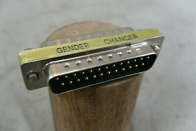 25 Pin Male Gender Changer
