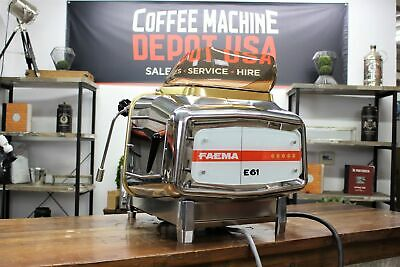 Demonstrator Faema E61 Legend 1 Group Commercial Espresso Coffee Machine