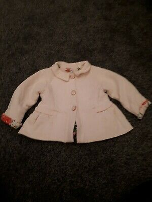Fab condition girls Ted Baker Pink Jacket Cute 9-12 Months