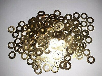 Solid brass washers M8 x200