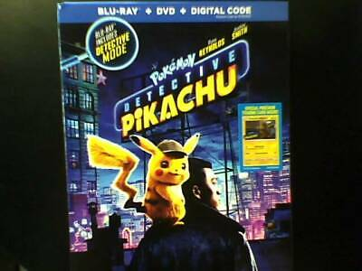 Pokemon Detective Pikachu (Blu-ray Only, 2019) Opened-Uwatched