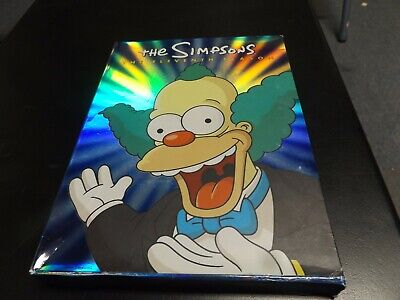 The Simpsons The Eleventh Season DVD Collectors Edition.