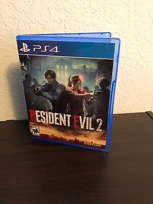 Resident Evil 2 PS4 (Sony PlayStation 4, 2019) Remake Re2 Capcom