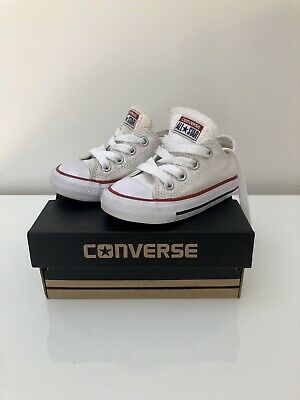 Converse Toddler Chuck Taylor White, Size Us 5, Great Condition