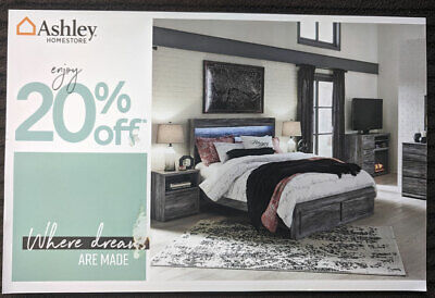 Ashley Furniture Coupon - 20% Off Entire Purchase