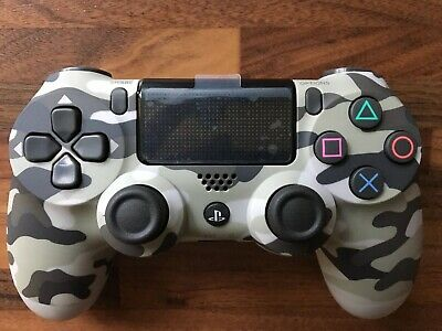 Sony Dualshock 4 Wireless Controller for PlayStation 4 - Grey Camouflage
