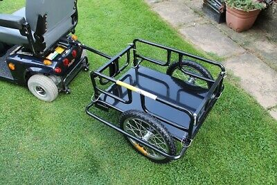 Mobility Scooter Rear Open Cargo Towing Trailer XX Large Transport Attachment BN