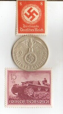 *WW2 *german STAMPS+ SILVER EAGLE coins(.900%,+625%)+*egyp.*king 'TUT' coin