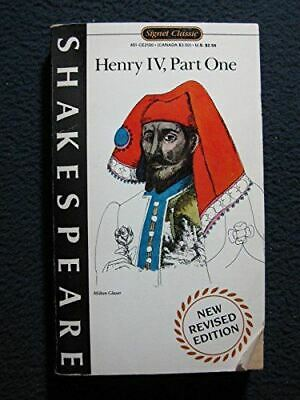 Henry Iv, Part 1: Pt. 1 (Signet Books), Shakespeare, William, Very Good, Mass Ma