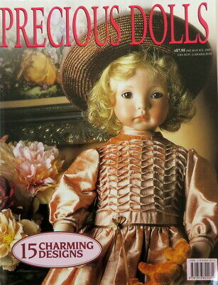 Precious Dolls Magazine with pattern sheet - 15 Clothing Outfit Designs 83 Pages