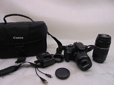 Canon EOS Rebel T6 Digital SLR Camera with 18-55 mm and 75-300 mm Lenses     #12