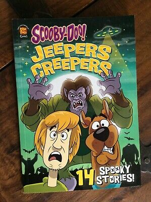 SCOOBY DOO! Jeepers Creepers 14 Spooky Stories Otter Press Comic Book VGC