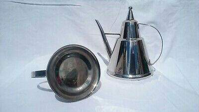 Stainless Steel Italian Oil Drizzler  Pourer Vgc