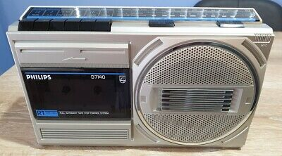 PHILIPS D7140 Radio Cassette Fully working almost as New condition.