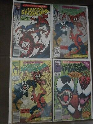 AMAZING SPIDERMAN 361 362 362 Variant 363! Carnage/Venom - News Stand