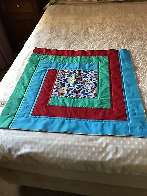 Unbinded/Uncompleted Patchwork Quilt Doll/Bear