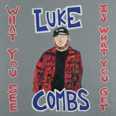 Luke Combs What You See Is What You Get BRAND NEW Beer Never Broke My Heart CD