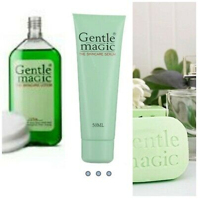 Gentle Magic Soap, serum and Lotion set of 3