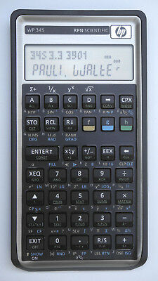 Programmable scientific RPN calculator WP-34s based on HP-42s / HP-30b