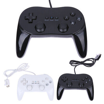 New Pro Classic Game Controller Pad Console Joypad For Nintendo Wii Remote #MY