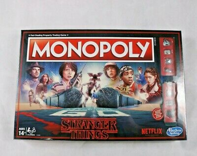 Monopoly: Stranger Things Edition Netflix 80s Hasbro Gaming