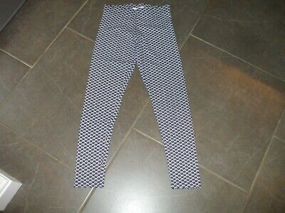 Girls  Marks M&S  Leggings Age 10-11 Non Smoke House  Cotton Perfect Blue