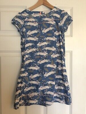 Mini Boden Dress Age 7 Rabbits