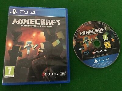 Minecraft PS4 Edition PlayStation 4  Great Game Ideal Christmas Present Build Up