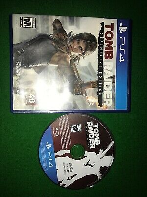 Tomb Raider Definitive Edition PS4 Play Station 4 Great Game Ideal Xmas Gift