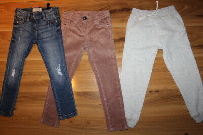 NEXT girls jeans joggers cords bundle 4-5 years *I'll combine postage*(4)